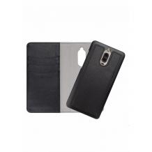 Redneck Duo Wallet Folio 2-i-1 Cover til Huawei Mate 9 Pro - Sort-1