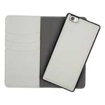 Redneck Duo Wallet Folio 2-i-1 Cover til Huawei P8 Lite - Hvid-1