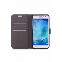 Redneck Duo Wallet Folio 2-i-1 Cover til Samsung Galaxy J5 (2017) - Sort-1