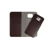 Redneck Duo Wallet Folio 2-i-1 Cover til Samsung Galaxy S6 - Brun-1