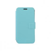 Redneck Elano Stand Folio Case for Samsung Galaxy S6 Edge in Aqua - For Retail-1