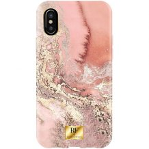 RF BY RICHMOND & FINCH CASE IPHONE X/XS PINK MARBLE GOLD-1