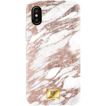 RF BY RICHMOND & FINCH CASE IPHONE X/XS ROSE GOLD MARBLE-1