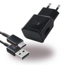 Samsung Adaptive Fast Charger EP-TA20EBE Med USB-C Ladekabel-1