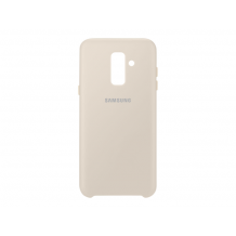 SAMSUNG DUAL LAYER COVER (GALAXY A6+ GOLD)-1
