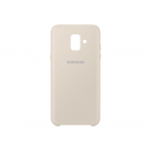 SAMSUNG DUAL LAYER COVER (GALAXY A6 GOLD)-1
