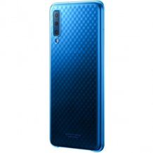 Samsung - EF-AA750CLE Gradation Cover - A750F Galaxy A7 (2018) - BLue-1