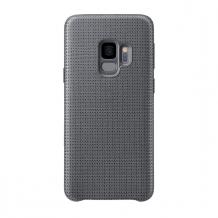 Samsung - EF-GG960FJ Hyperknit Hard Cover - G960F Galaxy S9 - Gray-1