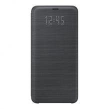 Samsung - EF-NG965PB - LED View Cover / Book Case - G965F Galaxy S9 Plus - Black-1