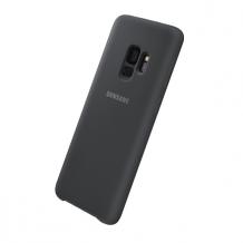 Samsung - EF-PG960TB - Silicone Cover - G960F Galaxy S9 - Black-1