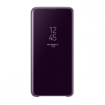 Samsung - EF-ZG965CV Clear View Standing Cover - G965F Galaxy S9 Plus - Purple-1