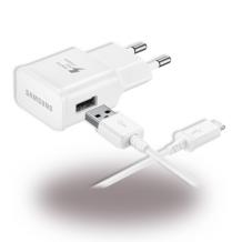 Samsung EP-TA20EWE Hurtiglader Med USB-C Ladestik, Hvid-1