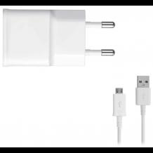Samsung EP-TA50EWE 1Amp Oplader Med MicroUSB Kabel, Hvid-1