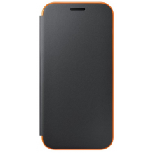SAMSUNG Flip Cover for A3 (2017)black-1