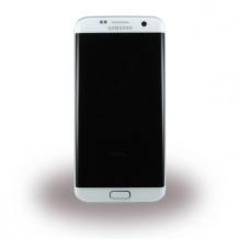 Samsung G935F Galaxy S7 Edge - Original Spare Part - LCD Display / Touch Screen with Battery - White-1