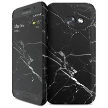 Samsung Galaxy A3 (2017) cover med marmor mønster i-Paint Marble-1