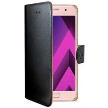Samsung Galaxy A3 (2017) flipcover Celly Wally Case - Sort-1