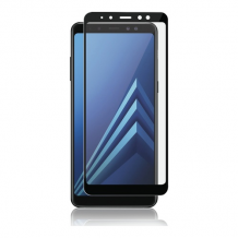 Samsung Galaxy A6 2018, Full-Fit Glass, Black-1