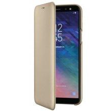Samsung Galaxy A6 (2018), Wallet, Guld-1