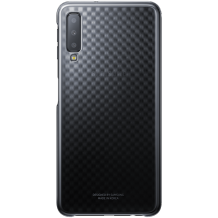 Samsung Galaxy A7 (2018) Gradation cover - Black-1