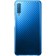 Samsung Galaxy A7 (2018) Gradation cover - Blue-1