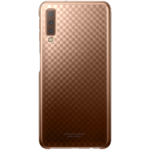 Samsung Galaxy A7 (2018) Gradation cover - Gold-1