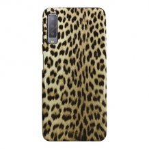 Samsung Galaxy A7 2018, Leopard Cover, Black-1