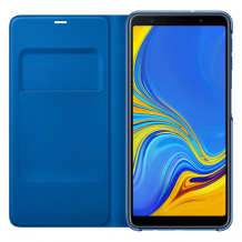 Samsung Galaxy A7 (2018) Wallet cover - Blue-1