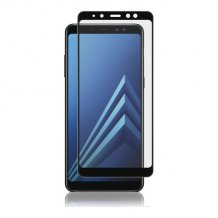 Samsung Galaxy A8 (2018) Panzer Tempered Glass Full-Fit Sort-1
