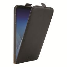 Samsung Galaxy A8 (2018) Redneck Prima flipcover - sort-1