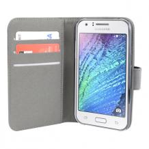 Samsung Galaxy J1 flipcover Redneck Prima Wallet Folio Sort-1
