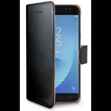Samsung Galaxy J5 (2017) flipcover Celly Wally Case - Sort-1