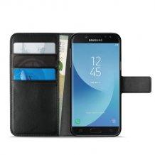 Samsung Galaxy J5 2017 Puro Milano Wallet flipcover med 3 Kreditkortlommer - -1