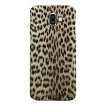 Samsung Galaxy J6+ 2018, Leopard Cover, Black-1