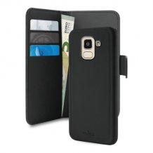 Samsung Galaxy J6 (2018) Magnet pung taske og cover 2-i-1 fra Puro - Sort-1
