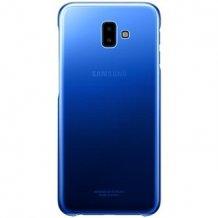 Samsung Galaxy J6+ Gradation cover - Blue-1
