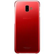 Samsung Galaxy J6+ Gradation cover - Red-1
