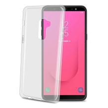 Samsung Galaxy J8 (2018) Celly Gelskin TPU Cover Gennemsigtig-1