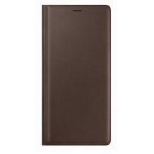 SAMSUNG GALAXY NOTE 9 (LEATHER VIEW COVER BROWN)-1