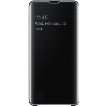 Samsung Galaxy S10+ Clear view cover - Black-1