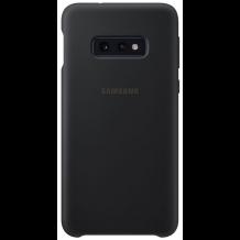 Samsung Galaxy S10E Silicone Cover - Black-1
