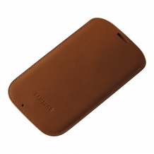 Samsung Galaxy S4 Pouch Case Camel-1