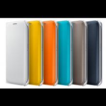 Samsung Galaxy S6 Flip Wallet Originalt EF-WG920P, Hvid-1