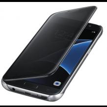 Samsung Galaxy S7 Clear View Flip Cover, Originalt EF-ZG930CBE Sort-1