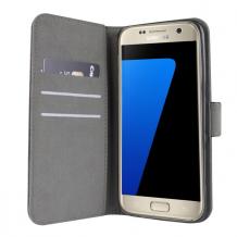 Samsung Galaxy S7 Edge flipcover Redneck Prima Wallet Folio Sort-1