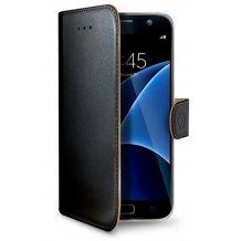 Samsung Galaxy S7 flipcover Celly Wally Case - Sort-1