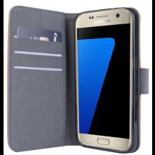 Samsung Galaxy S7 flipcover Redneck Prima Wallet Folio Brun-1