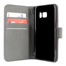 Samsung Galaxy S7 flipcover Redneck Prima Wallet Folio Lilla-1