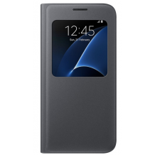 SAMSUNG GALAXY S7 (S-VIEW COVER BLACK)-1