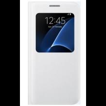 Samsung Galaxy S7 S View Flip Cover Originalt EF-CG930PW Hvid-1